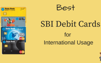 SBI के सबसे Best International Debit Cards