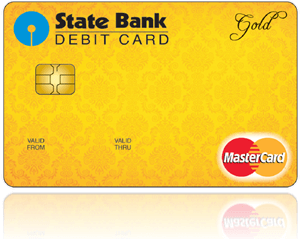sbi gold international debit card