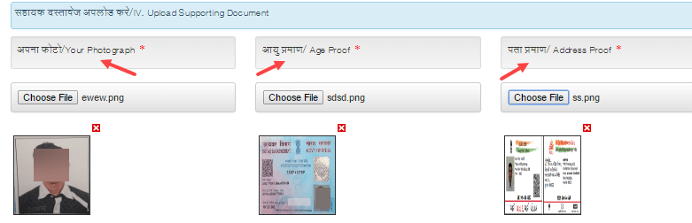 voter id card online correction