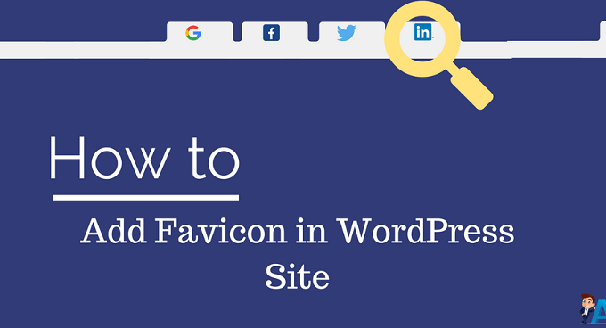 WordPress Site पर Favicon कैसे Add करते हैं?