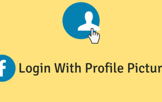 Facebook Login With Profile Picture के बारे में जानिए