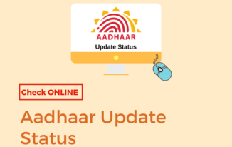 Check Aadhaar Card Update Request Status Online