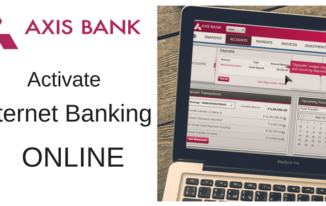 AXIS BANK Internet Banking Online Activate Kaise kare