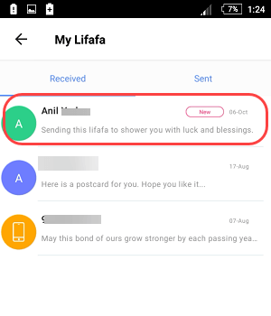 paytm lifafa send receive
