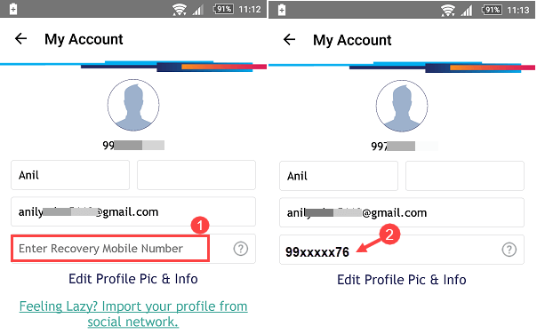 sbi buddy forget pin security question answer