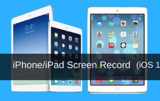 iPhone/iPad Screen Record Kaise kare (Latest iOS 11 Feature)