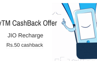Jio New Users – Flat ₹50 Cashback on JIO recharge of ₹399 or more
