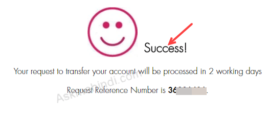 Axis bank change branch online