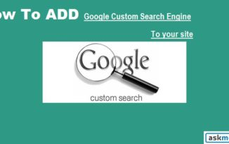 Google Custom Search Website me Kaise Add Kare