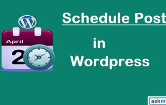 WordPress Me Post Schedule Kaise Kare
