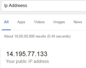 ip address check google