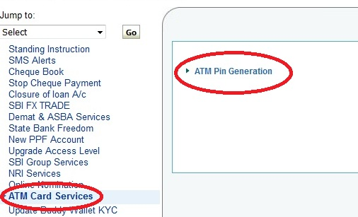 Pin ATM generate online