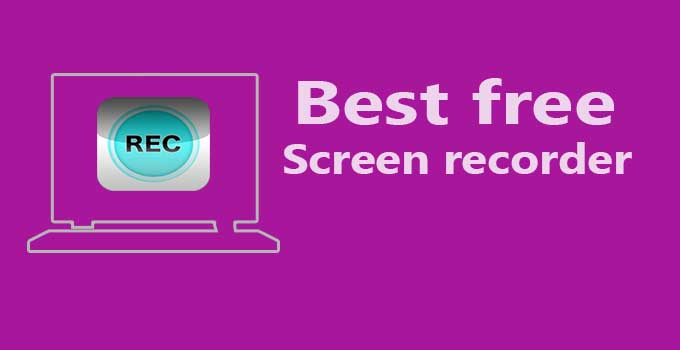 6 Best Free Screen Recorder for PC