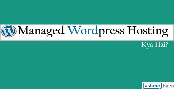 maanged wordpress hosting