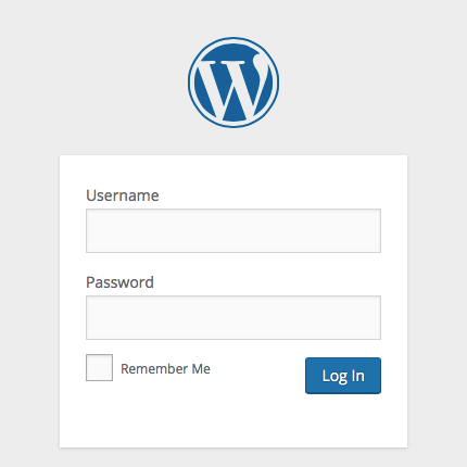 wordpress login without email