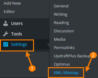 wordpress setting option