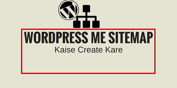wordpress sitemap create
