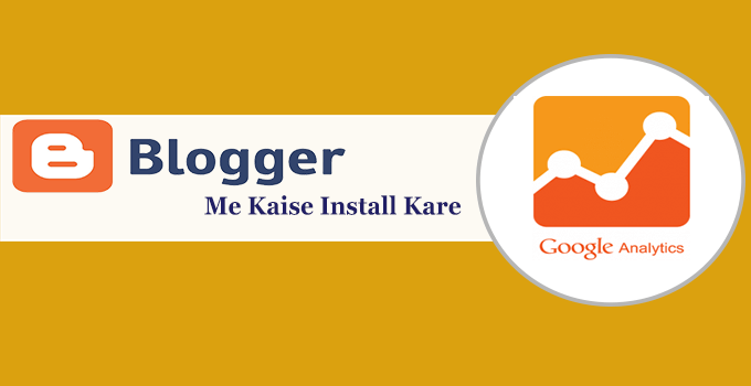 add google analytic blogger