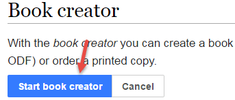 book create wikipedia