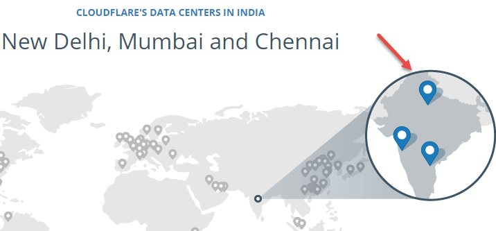 cloudflare india