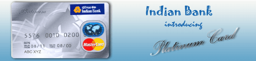 indian bank card