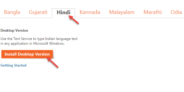 hindi language tool