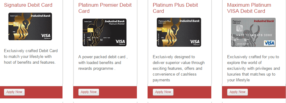 indusind card