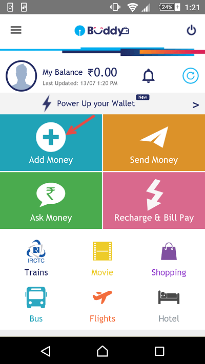 sbi buddy add fund