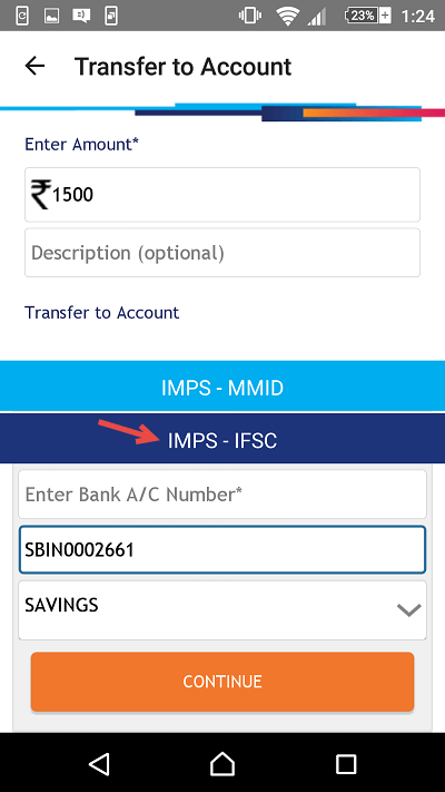 sbi buddy money transfer