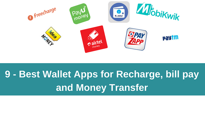9 Best Wallet Apps Recharge & Money Transfer ke Liye