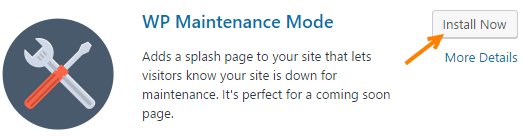 wordpress maintenance mode plugin