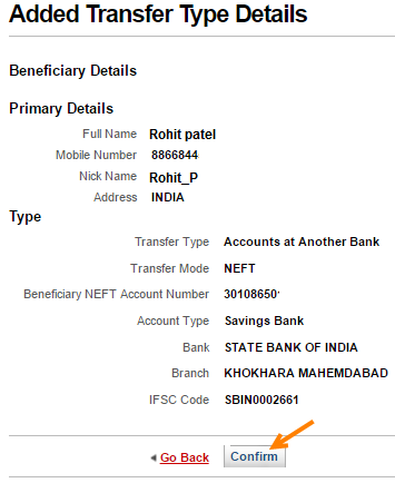 add beneficiary kotak bank