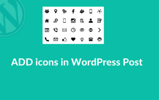 WordPress Post Me icons Kaise Use Kare?