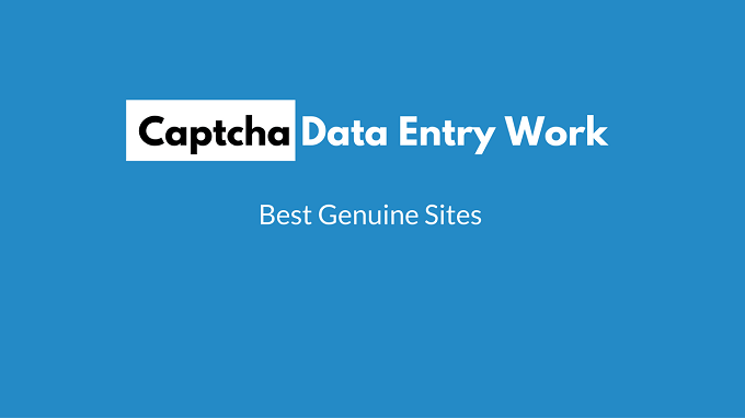 captcha data entry jobs in india