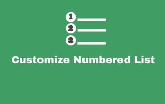 Numbered List Ko Stylish Banaye [CSS Tutorial]
