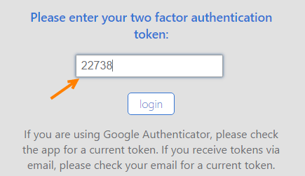bluehost two factor authentication