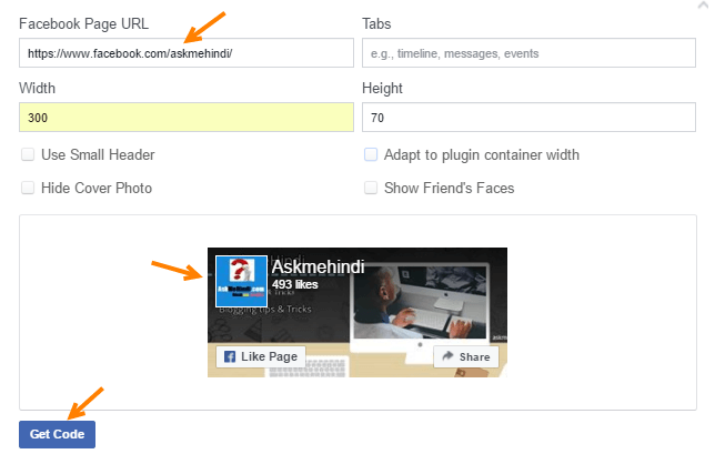 facebook likebox plugin