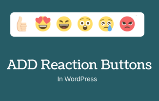 WordPress Me Facebook Reaction Buttons Kaise Show kare