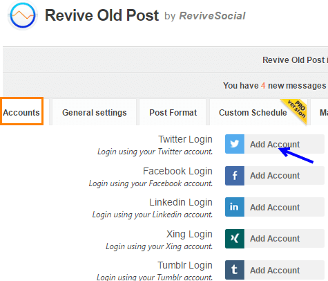 Revive old post Plugin Setup