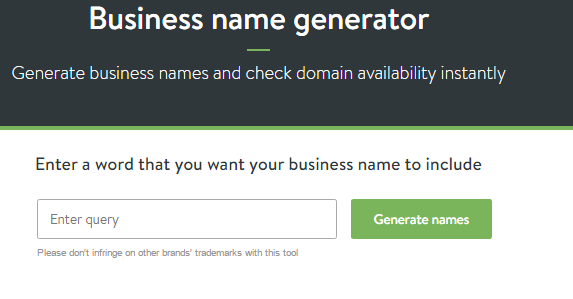 shopify domain name generator
