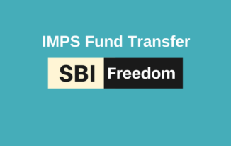 SBI Freedom Par IMPS Money Transfer Kaise Kare?