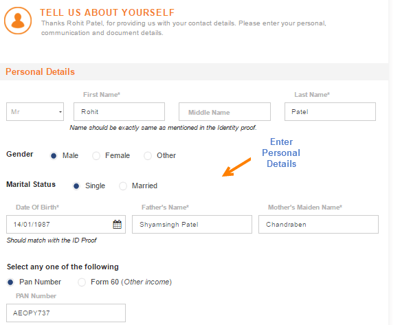 icici online apply saving account