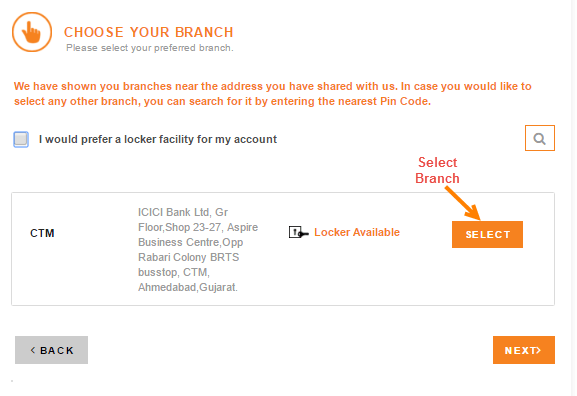 icici bank online apply account