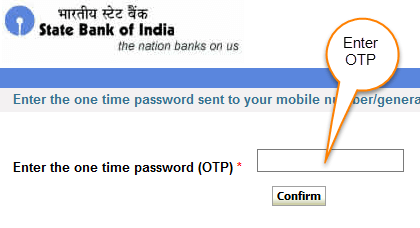 sbi netbanking password reset