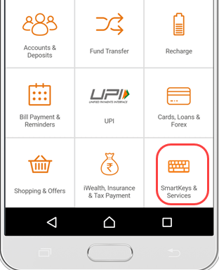 how to use icici imobile smartkeys