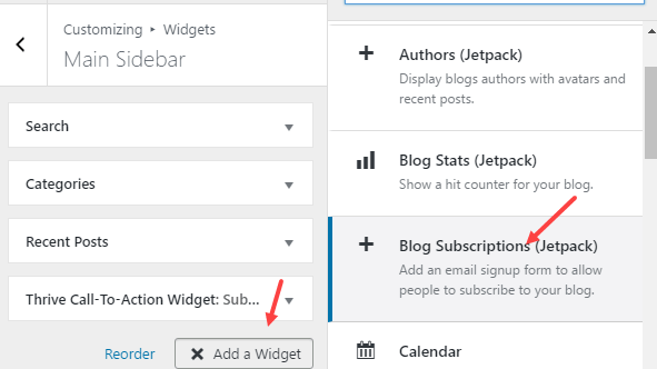 jetpack feature add subscription feature