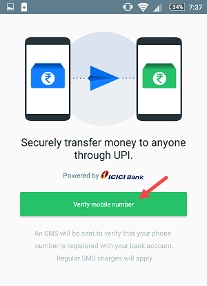 truecaller UPI send money