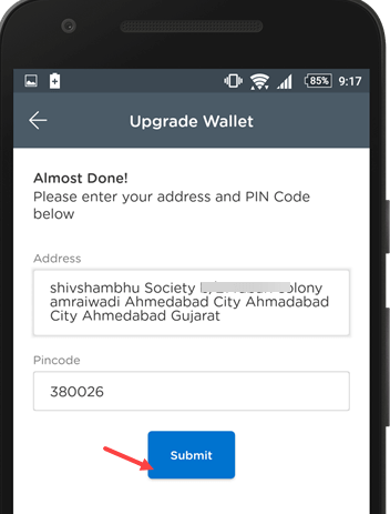 Upgrade mobikwik wallet