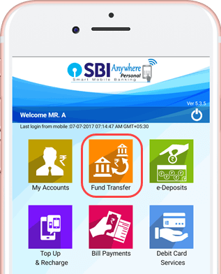 sbi anywhere fund transfer