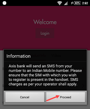 Axis Mobile Activation